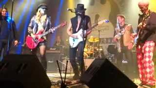 getlinkyoutube.com-ORIANTHI RICHIE SAMBORA ROBBY KRIEGER Jamming  BACK DOOR MAN at MEDLOCK KRIEGER 10/5/2015