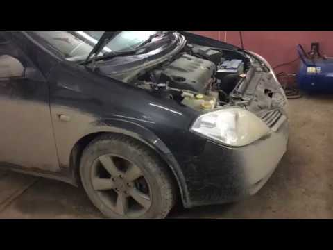 Nissan Primera - Замена датчика коленвала и распредвала.