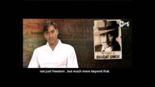 getlinkyoutube.com-The Legend of Bhagat Singh - Movie Making - Ajay Devgan