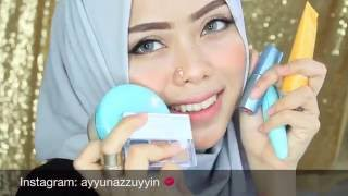 getlinkyoutube.com-Wardah kosmetik (One brand makeup tutorial) | Ayyunazzuyyin | makeup indonesia
