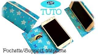 getlinkyoutube.com-{ Tuto } Support / Pochette téléphone en IT'z DUCT TAPE