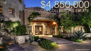 getlinkyoutube.com-4.85 Million Dollar Car Collectors Dream Home - Scottsdale, Arizona