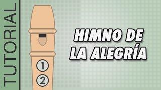 getlinkyoutube.com-Himno de la Alegría - Cómo Tocar la Flauta Dulce