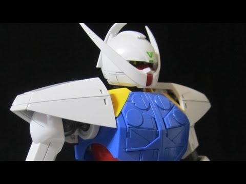 MG Turn A Gundam (Part 2: Parts) Gunpla plastic model review