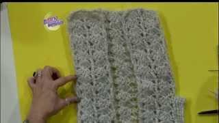 getlinkyoutube.com-Mónica Astudillo - Bienvenidas TV en HD - Teje un chaleco al crochet