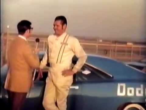 [NASCAR] Buddy Baker breaks the 200 mph speed barrier on Talladega - 1970