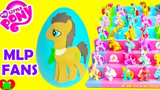 getlinkyoutube.com-My Little Pony Dr  Whooves Play Doh Surprise Egg Wave 11 and Wave 12