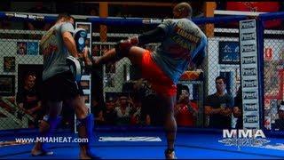 getlinkyoutube.com-UFC on FX 6: Hector Lombard Open Workout