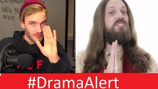 getlinkyoutube.com-PewDiePie Gets JESUS BANNED! Fiverr #DramaAlert Onision - h3h3 - Joey Salads 1000 Degree Knife!