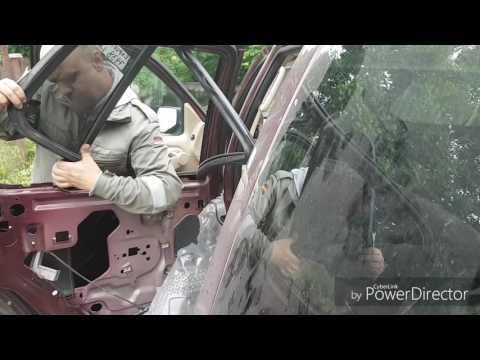 Ford Explorer 4 замена стекла форточки задней двери