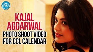 Kajal Aggarwal Latest Hot Photo Shoot Video For CCL Calendar