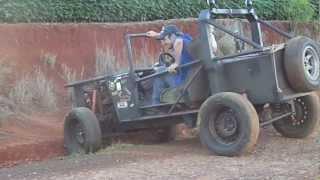 getlinkyoutube.com-jeep gaiola motor caixa e diferencial de chevette