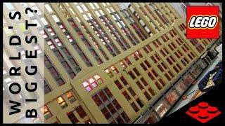getlinkyoutube.com-LEGO - MASSIVE Empire State Building SKYSCRAPER - December 2016 Progress Report