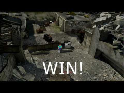 Minecraft in Modern Warfare 3 MW3 | Serie Game Kill Game 2