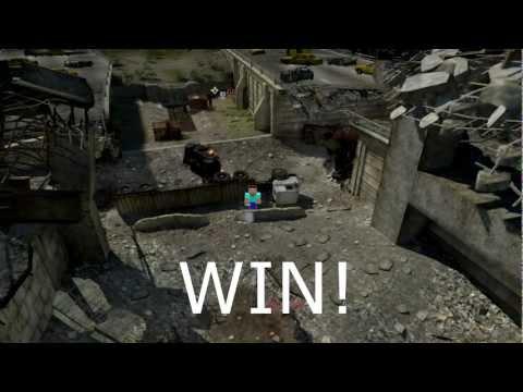 Minecraft in Modern Warfare 3 MW3 | Serie Game Kill Game 2
