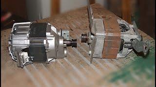 getlinkyoutube.com-Подключение и регулировка оборотов двигателя от стиральной машины