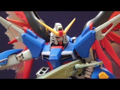 MG Destiny Gundam (Part 4: Verdict) Extreme Blast Mode: Seed Destiny gunpla review
