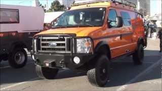 getlinkyoutube.com-SEMA: Ford Sportsmobile 4x4 van