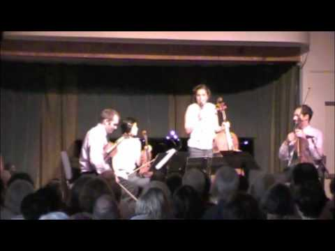Intro to Berg Lyric Suite Jasper Quartet at CMNW