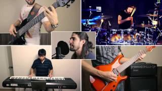 getlinkyoutube.com-Dream Theater – The Gift of Music (The Astonishing) – SPLIT-SCREEN COVERS – VRA!