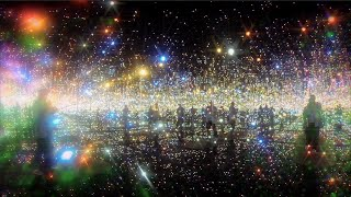 getlinkyoutube.com-YAYOI KUSAMA : INFINITY MIRRORED ROOM