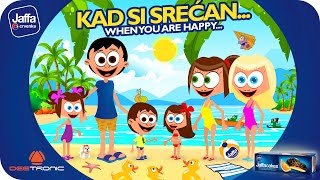 getlinkyoutube.com-Kad si srećan (When You Are Happy And You Know It) Nursery Rhymes 2015 powered by Jaffa