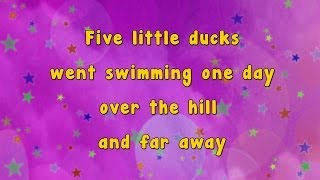 getlinkyoutube.com-Karaoke - Karaoke - Five Little Ducks