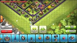 getlinkyoutube.com-Clash of clans:Best Town hall lv 8 #4 farming base!!