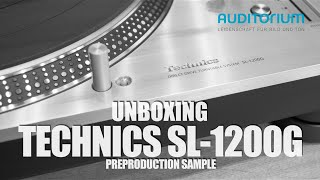 getlinkyoutube.com-Unboxing TECHNICS SL 1200G