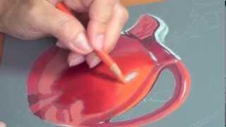 getlinkyoutube.com-Colored Pencil Blending with Kendra Ferreira