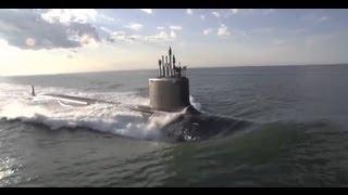 getlinkyoutube.com-NEW SUBMARINE - U.S. Navy Takes Delivery of USS Minnesota
