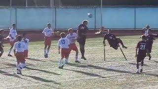 getlinkyoutube.com-One Legged Soccer Star Is Your Ultimate Inspiration