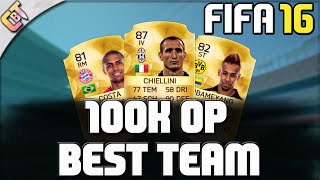 getlinkyoutube.com-FIFA 16 - 100K SQUAD BUILDER OVERPOWERED [DEUTSCH/GERMAN]
