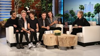 getlinkyoutube.com-One Direction Catches Up with Ellen