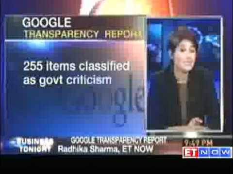 Transparency Report: Government asked Google to remove 358 items