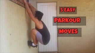 5 EASY Parkour Moves YOU SHOULD LEARN width=