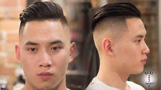 getlinkyoutube.com-Men's Haircut | Skin Faded Undercut 2016 | RealBarberTv