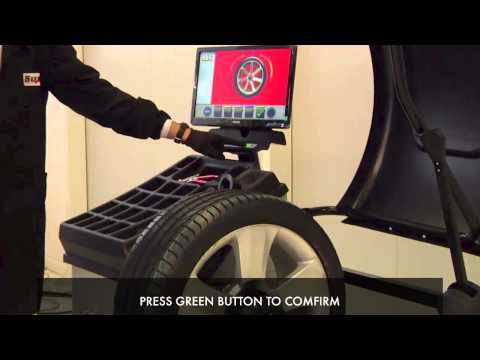 Стенд для балансировки колес ER255R