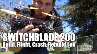 Build. Test. Crash. Repeat. A condensed mini-drone day.