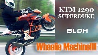 getlinkyoutube.com-INSANE WHEELIE MACHINE!!! | KTM 1290 Superduke Test Ride | BLDH