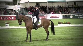 Land Rover Burghley Horse Trials - Dressage Day 1