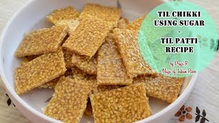 getlinkyoutube.com-Til Chikki using Sugar   Til Patti Recipe   Magic of Indian Rasoi