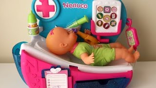 Baby Doll Hospital Doctor Toys Eletronic Clinic Baby Syringe Injection Taking medicine