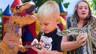 REPTILE BIRTHDAY PARTY SPECIAL!