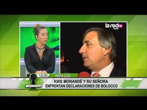 ¿Kike Morandé está molesto por dichos de Cecilia Bolocco?