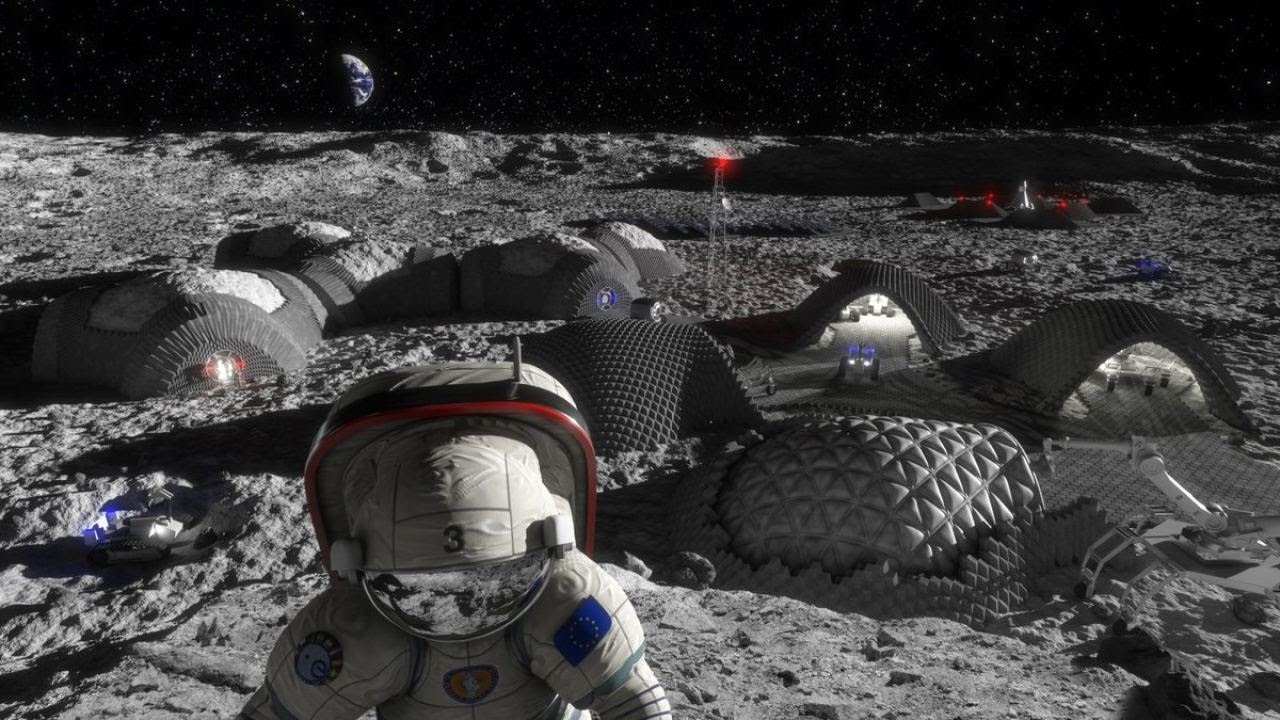 How SpaceX and NASA will Colonize the Moon!