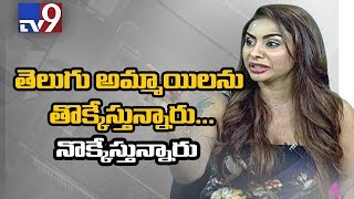 Actress Sri Reddy's sensational comments on casting couch || Tollywood - TV9