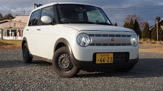 【まるしかくい】スズキ・ラパン試乗レビュー  Suzuki Lapin review