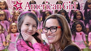 getlinkyoutube.com-How to get an American Girl Doll Experience - Mattel New York City 2016 Toy Fair