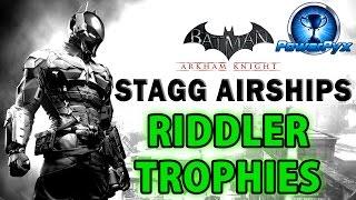 getlinkyoutube.com-Batman Arkham Knight - Stagg Enterprises Airships - All Riddler Trophy Locations